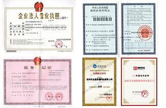 金猫数据资质证书